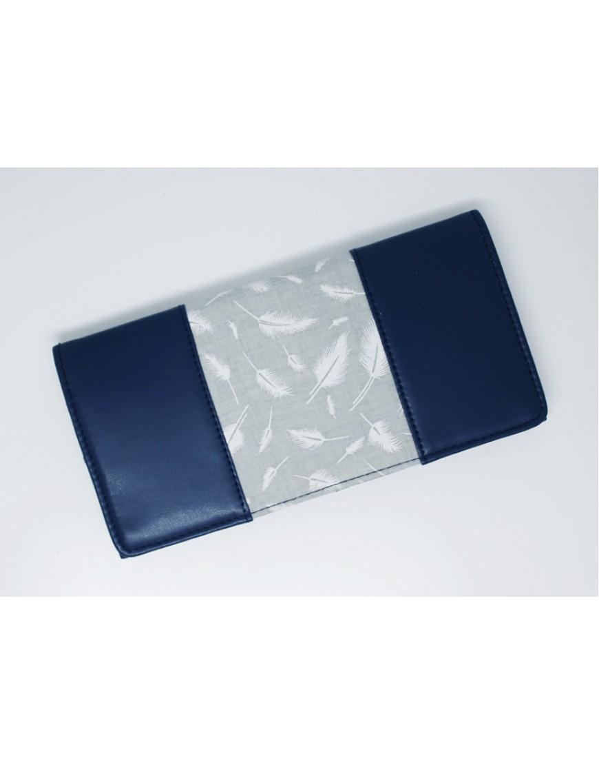 Blue Leaf Wallet