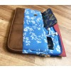 Blue White Floral Laptop Sleeves